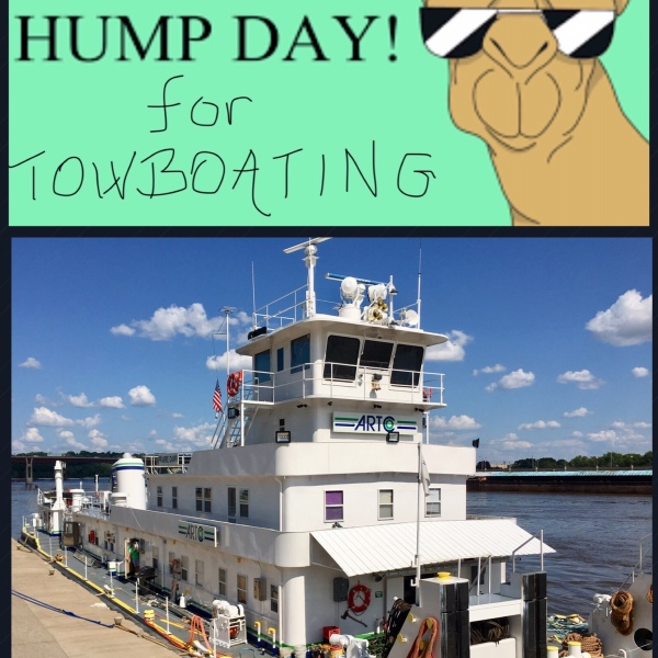 hump day meaning for towboaters - Someones In The Kitchen 2